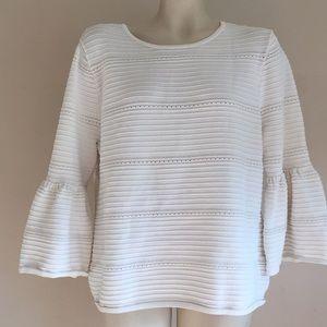WHBM Blouse Large sweater like